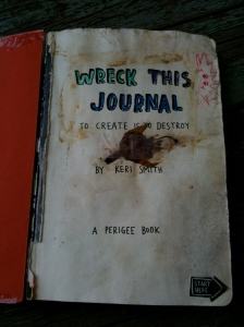 Cover to my Wreck This Journal