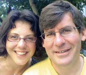 Gretchen Wegner and Randy Newsanger